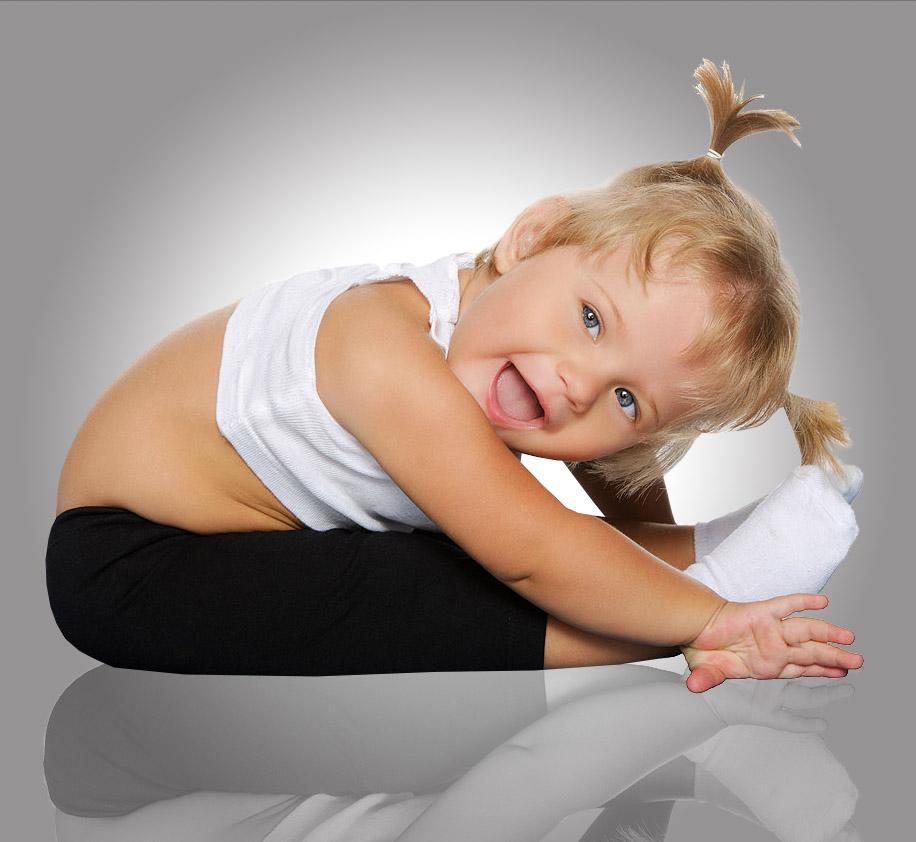 Художественная гимнастика для малышей 3-4 года