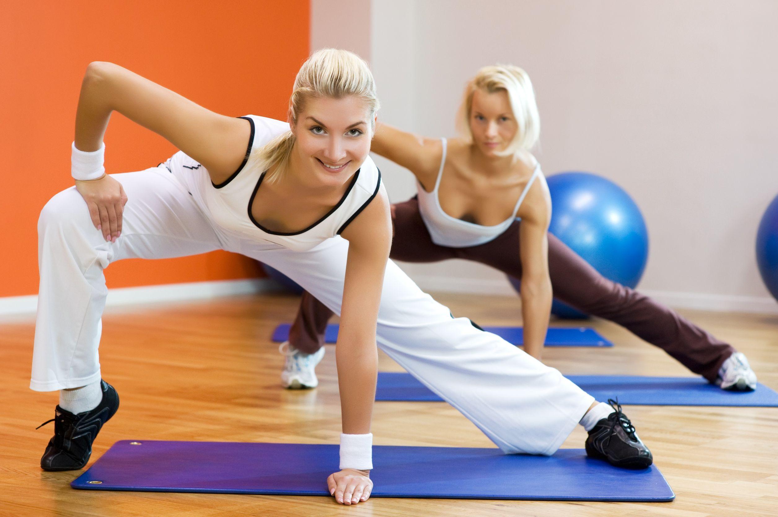 Аэробика и фитнес